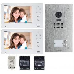 Kit vidéo couleur mains libres 2 BP JO2SDVF - Aiphone 130407