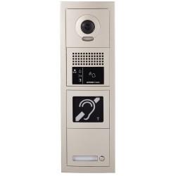 Platine de rue 1 bouton GT vidéo GTBVH1P - Aiphone 200276