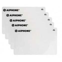 Pack de 5 cartes ISO de configuration 4K pour UGVBA, UGVBT, CUGVBA & CUGVBT PACKCP4K - Aiphone 122003
