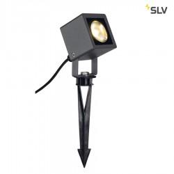 Spot sur piquet d'extérieur NAUTILUS SQUARE LED anthracite - SLV 231035