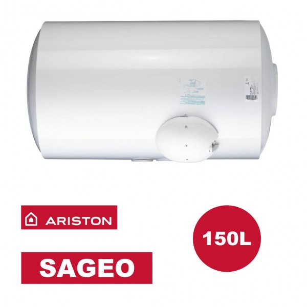 Belle Chauffe-eau électrique horizontal bas Sagéo 150 l - Ø 560 mm LJ-82