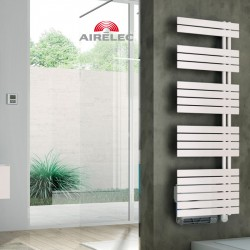 Seche-serviettes AIRELEC Asymétrique à droite OSYA électrique 1750W (750W + 1000W) - A694142