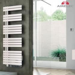 Seche-serviettes AIRELEC Asymétrique à gauche OSYA électrique 1500W (500W + 1000W) - A694151