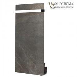 Sèche-serviettes TOUCH SILICIUM Terre Lunaire 800W Vertical - VALDEROMA TL08BLT