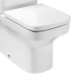 Cuvette WC au sol compacte Rimless à évacuation duale DAMA - ROCA A34278L000