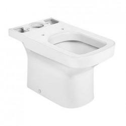 Cuvette WC en porcelaine à évacuation horizontale Blanche DAMA - ROCA A342787000