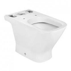 Cuvette WC en porcelaine à évacuation horizontale blanche THE GAP - ROCA A342477000