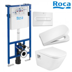 Pack WC SUSPENDU ROCA - THE GAP SQUARE / DUPLO
