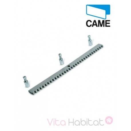 CGZS Crémaillère en acier laminé, percé pour motorisation portail coulissant CAME - 30 x 08 mm - CAME -  CGZS