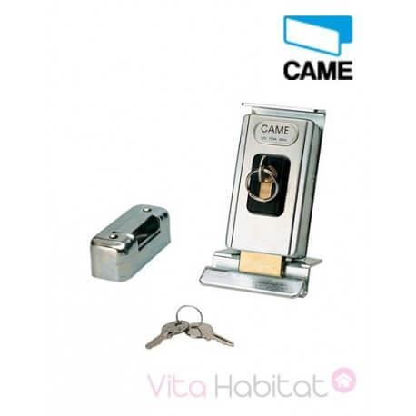 Serrure électrique de blocage avec cylindre simple - CAME -  LOCK81