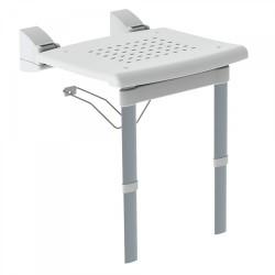 Siège de douche pliable avec pieds  - TRES 03463630