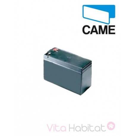 Batterie de secours pour motorisation portail - 12 V - 7 Ah - CAME -  PNP612