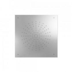 Douche acier inoxydable de tête anticalcaire 500x500mm. - TRES 29995302