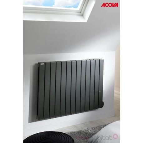 Radiateur électrique ACOVA - FASSANE Premium Horizontal 1000W - inertie fluide - THXD100-081LF