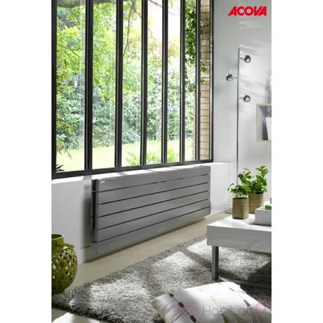 radiateur lectrique acova fassane premium horizontal 1000w inertie fluid. Black Bedroom Furniture Sets. Home Design Ideas