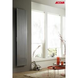 Radiateur électrique ACOVA - FASSANE Premium Vertical 1250W - inertie fluide - THXP125-200LF