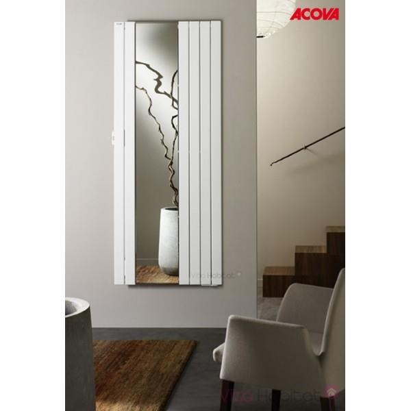 Radiateur acova fassane miroir premium radiateur electrique vertical tmxp - Radiateur miroir electrique ...