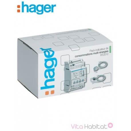 Pack Afficheur modulaire Multiénergies RT2012 - Hager logisty - EC453