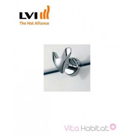 Patères en V pour JARL IR CH - Chrome - LVI - 3900154