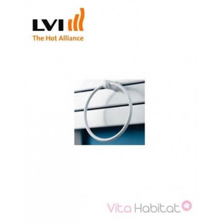Porte-serviette anneau pour MAROA, INYO, APANEO et SILAY - Blanc - LVI - 3900145