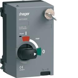 Mot.P250 100-110VAC/DC AR+clé - APPAREILLAGE DE TETE  HAGER HXT041HK