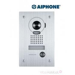 Platine de rue JKDVF pour portier vidéo AIPHONE - encastrée - 130212