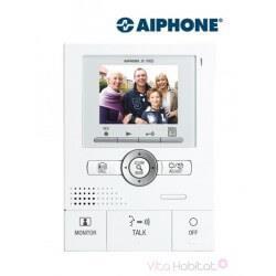 Moniteur principal couleur mains libres JK1MED  - Mémoire d'images - Grand angle et zoom - AIPHONE - 130207