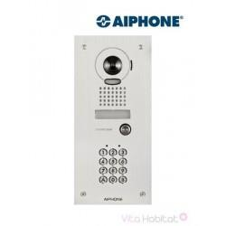 Platine inox JKDVFAC  avec clavier et caméra pour kit vidéo AIPHONE - encastrée - 130223