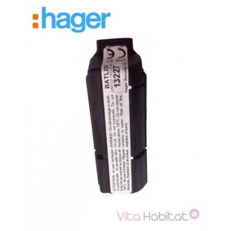 Pile lithium 3V / 2,4 Ah - BATLI38 - Hager Logisty