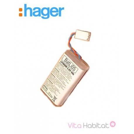 Pile lithium 3,6 V / 4 Ah - BATLi05 - Hager Logisty