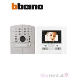 Kit Interphone vidéo BTICINO POLYX MEMORY DISPLAY - Platine à encastrer - 1 appel - BTICINO 369511