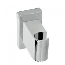 Support pour douchette avec prise d'eau murale et clapet anti-retour. - TRES 20718201