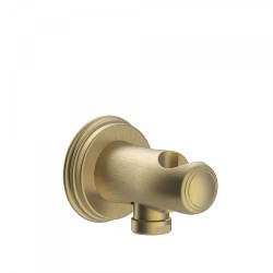 Support pour douchette avec prise d'eau murale - TRES 24218201LV