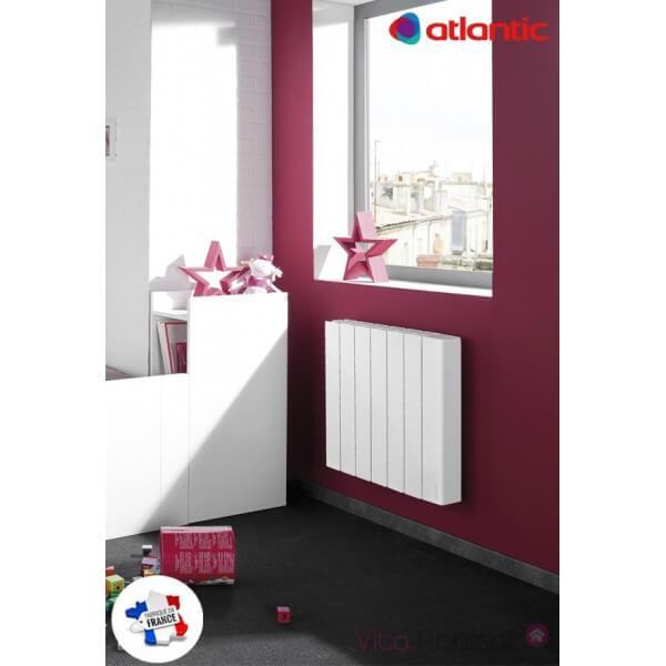 radiateur lectrique atlantic accessio digital 750w 524707 vita habitat. Black Bedroom Furniture Sets. Home Design Ideas