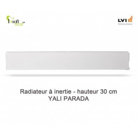 Radiateur électrique LVI - YALI Parada Plinthe 1000W - inertie fluide (haut.300) 3703102