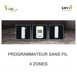 Programmateur sans fil 4 ZONES - LVI - 4505604