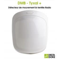 Détecteur de mouvement bi-lentille Radio - DMB TYXAL+ Delta Dore 6412286