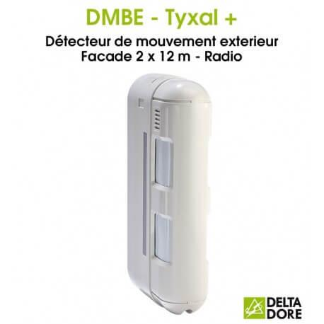 D tecteur de mouvement barri re ext rieure radio dmbe - Detecteur de mouvement exterieur ...