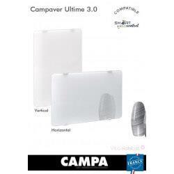 Radiateur électrique Campa - CAMPAVER Ultime 3.0 Horizontal Lys blanc 750W - CMUD08HBCCB