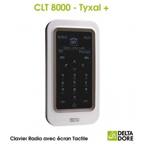 Clavier tactile avec écran Radio - CLT 8000 TYXAL+ Delta Dore 6413252