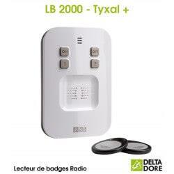 Lecteur de badges Radio - LB 2000 TYXAL+ Delta Dore 6413254