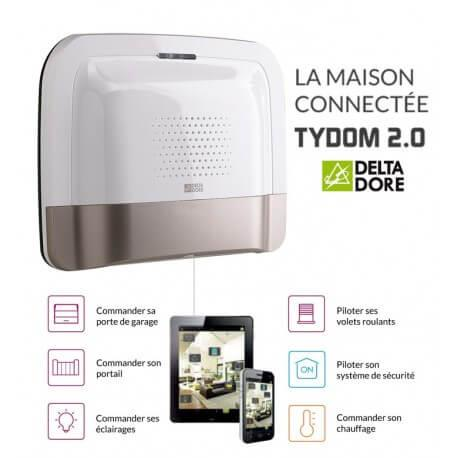 TYDOM 2.0 - Transmetteur IP / GSM et Application TYDOM - TYXAL+ Delta Dore 6414118