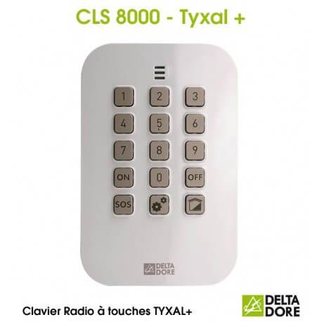 Clavier à touches Radio - CLS 8000 TYXAL+ Delta Dore 6413253