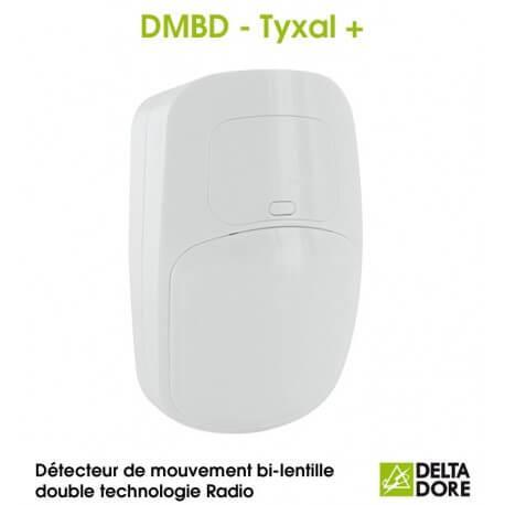DMBD - Détecteur de mouvement bi-lentille double technologie Radio - DMBD TYXAL+ Delta Dore 6412311