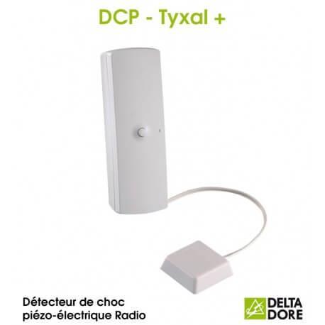 Détecteur de choc piézo-électrique Radio - DCP TYXAL+ Delta Dore 6412301