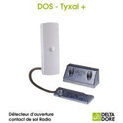 Détecteur d'ouverture contact de sol Radio - DOS TYXAL+ Delta Dore 6412300