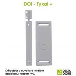 Détecteur d'ouverture invisible Radio pour fenêtre PVC - DOI PVC TYXAL+ Delta Dore 6412308