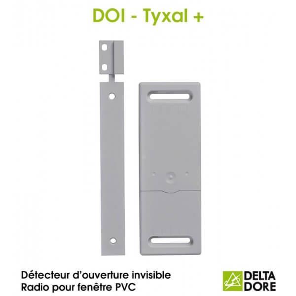 Detecteur ouverture invisible ouvrant pvc delta dore 6412308 for Colle pour fenetre pvc