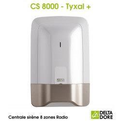 Centrale sirène 8 zones Radio - CS 8000 TYXAL+ Delta Dore 6411120