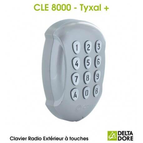 Clavier à touches Extérieur Radio - CLE 8000 TYXAL+ Delta Dore 6413255